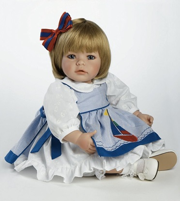 Picture of Pin-A-Four Seasons-One Doll, 4 Outfits -Blonde Hair, Blue Eyes