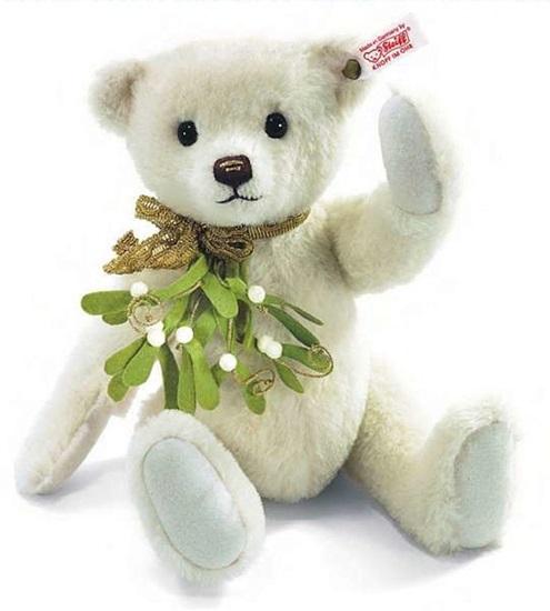 Picture of Mistletoe Teddy Bear