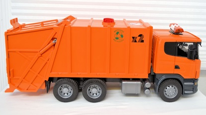 Picture of Scania Garbage Truck