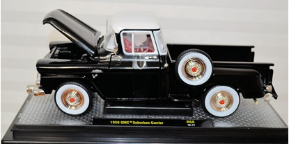 Picture of Copy of 1958 GMC Suburban Carrier Jet Black and Pure White