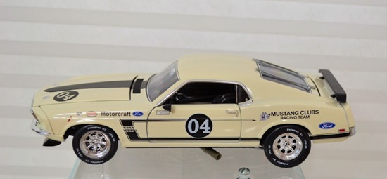 Picture of 1969 Ford Mustang Boss 302 Racer #4 White