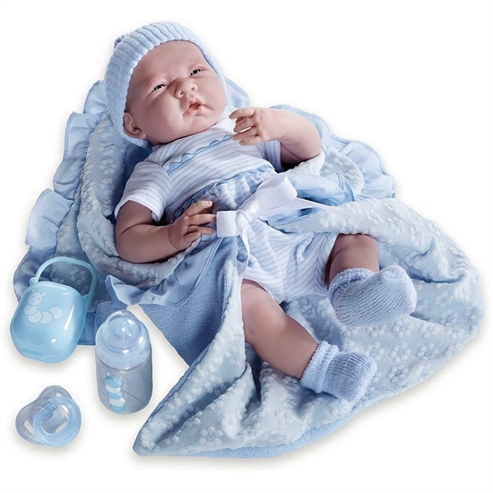 Picture of La Newborn - 7 Piece Premium Blue Gift Set