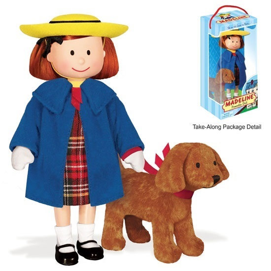 Picture of Madeline with Genevieve - 8 inch posable doll