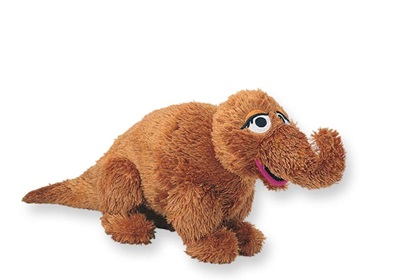 Picture of Snuffleupagus - 16 inch Shaggy Plush