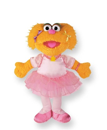 Picture of Zoe Ballerina - 12 inch Shaggy Plush