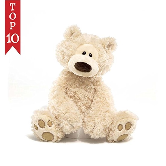 Picture of Philbin Beige Bear - 12 inches