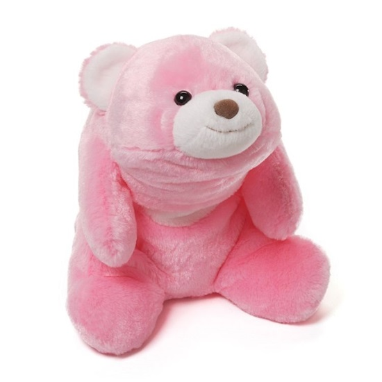 "Picture of ""Snuffles"" Pink Bear"
