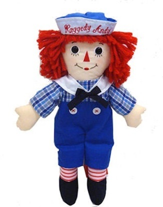 Picture of  Raggedy Andy - 16 inches