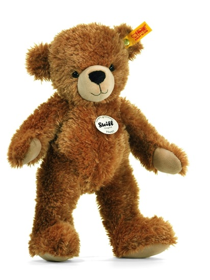 "Picture of ""Happy"" Plush Teddy Bear"