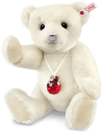 "Picture of ""Berry"" Teddy Bear with Swarovski Elements"