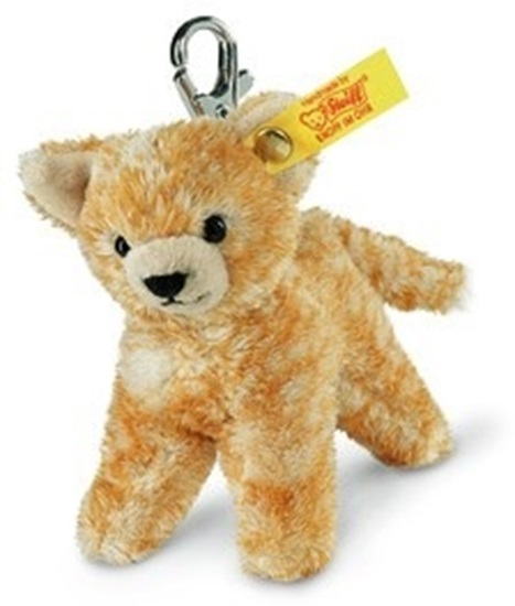 "Picture of ""Katze"" Red Tabby Cat Keyring"