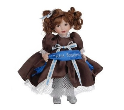 "Picture of ""100 Years of Kisses"" Kiss Someone Keepsake Doll"