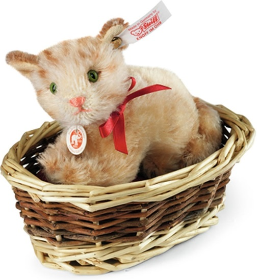 Picture of Ginny Kitten in Basket
