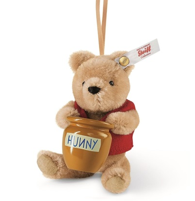 Picture of Winnie The Pooh with Hunny Pot Ornament