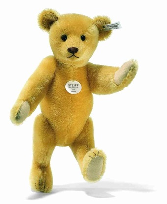 Picture of 1908 Replica Yellow Teddy Bear