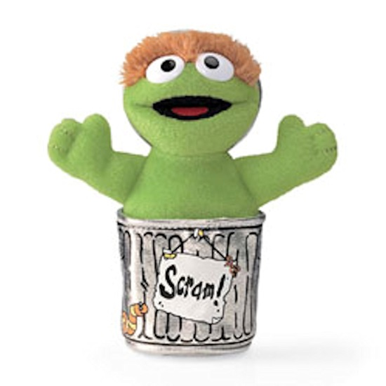 Picture of Oscar The Grouch Beanbag