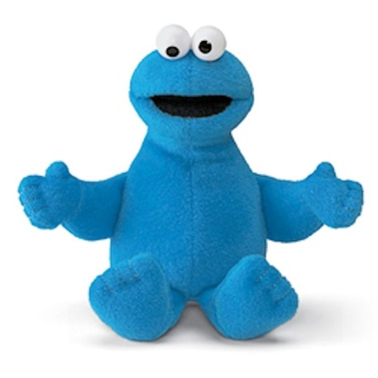 Picture of Cookie Monster  Beanbag