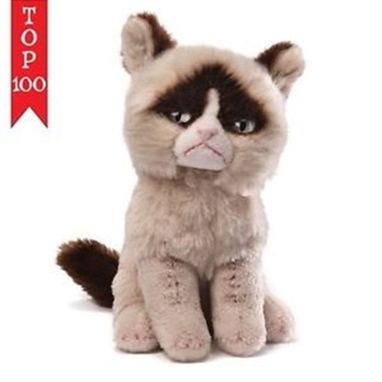 "Picture of ""Lil Grumpy"" Grumpy Cat Beanbag Plush"