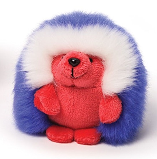 """Picture of """"Americana"""" - Ganley The Hedgehog - Red Body"""