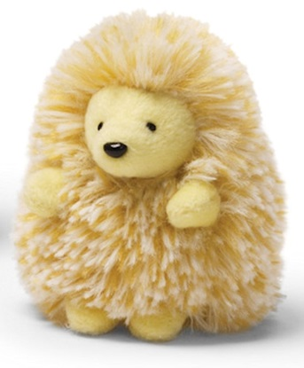 "Picture of ""Quilly"" The Porcupine - Light Yellow"