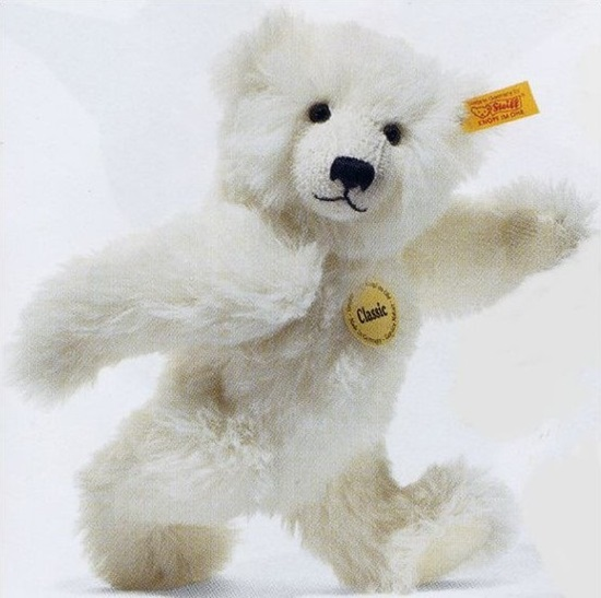 Picture of White Classic Teddy Bear