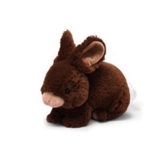 Picture of Lil Wispers Bunny - Dark Brown/Tan