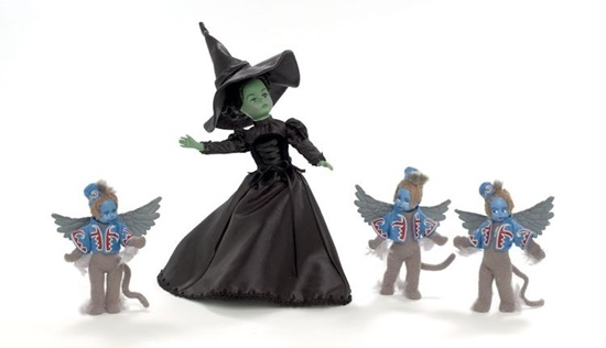 Picture of The Wicked Witch of the West and her Winged Monkeys