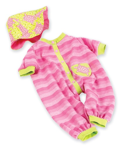 Picture of Pink Turtle Onsie And Hat