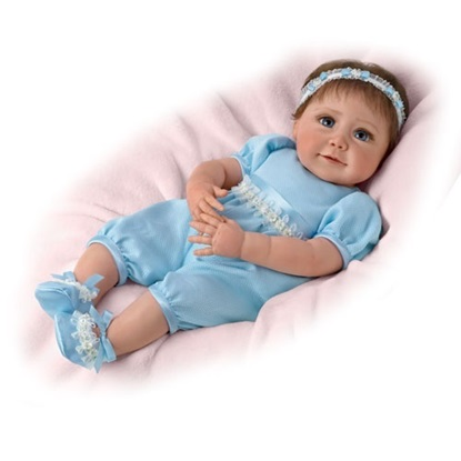 Picture of Baby Blue Eyes - Cloth Body