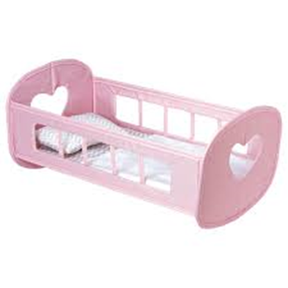 Picture of Pink Pack N Play Baby Doll Cradle