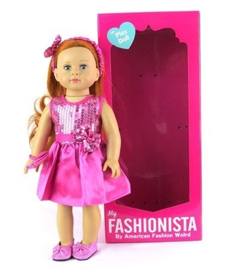 Picture of My Fashionista - Redhead