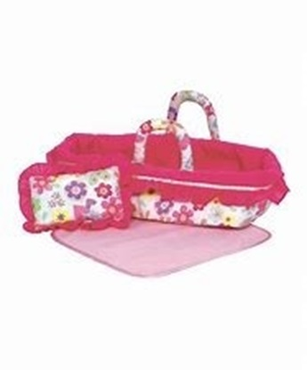 """Picture of Baby Doll Bed for 12""""-15"""" Dolls"""