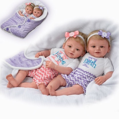 Picture of Hope and Faith - Cloth Bodies - FREE NEXT DAY SHIPPING