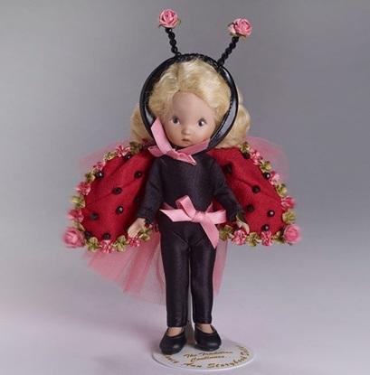 "Picture of ""Ladybug"" Nancy Ann Storybook Dolls"