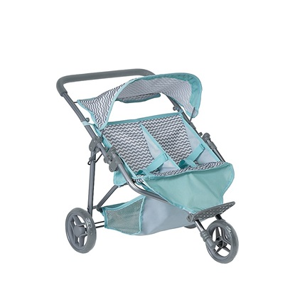 Picture of Zig Zag Twin Jogger Stroller