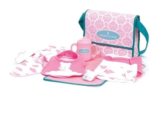 Picture of Middleton Doll Newborn Diaper Bag and Accessories