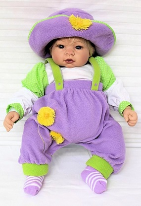 Picture of Deluxe  Baby Munchkin in Lavender
