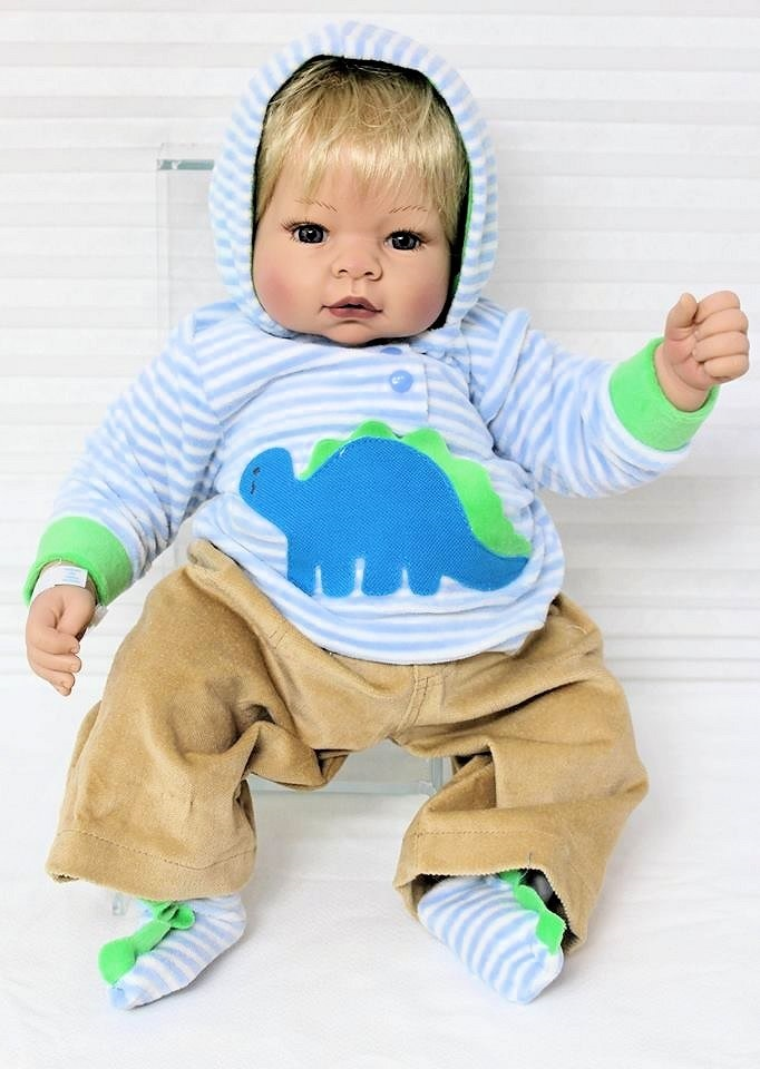 bae534411381 Picture of Deluxe Baby Munchkin in Dinosaur Outfit ...