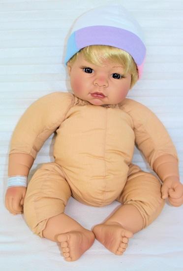 Picture of Deluxe  Baby Munchkin in Denim Jumper