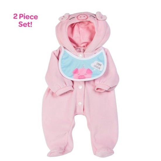 "Picture of Pig Out! Outfit -fits 16"" dolls"