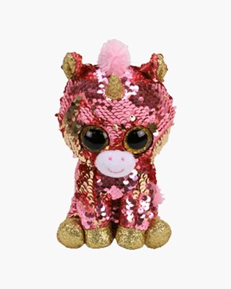 "Picture of ""Sunset"" the Unicorm - Flippables - Small Sequin Plush - New in  2019"