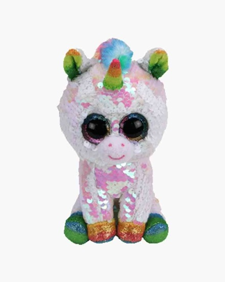 "Picture of ""Pixy"" the Unicorn - Flippables - Small Sequin Plush - New in 2019"