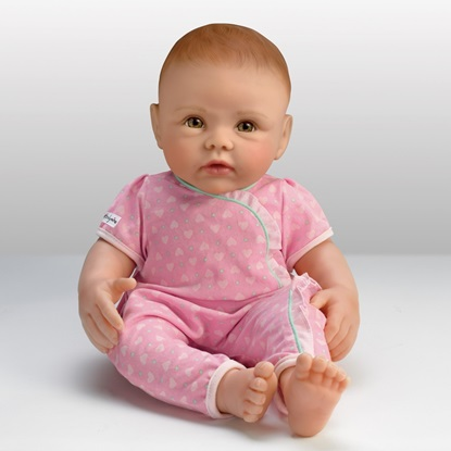 Picture of So Truly Mine Baby - Red Hair, Hazel Eyes - Cloth Body