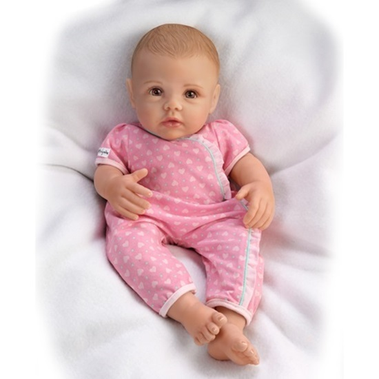 Picture of So Truly Mine Baby - Medium Skin, Brown Hair, Brown Eyes - Cloth Body