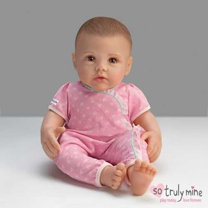 Picture of So Truly Mine Baby - Dark brown Hair, Brown Eyes - Cloth Body