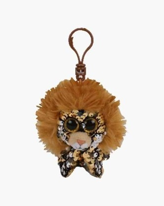 "Picture of ""Regal"" the Lion- Flippables - Sequin Plush Key Rings - New in 2019"