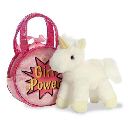 Picture of Fancy Pals - Girl Power Pet Carrier with White Unicorn