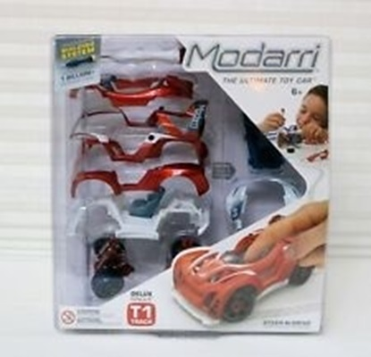 Picture of Modarri - Build It Yourself Toy Car - T1 Track Car Deluxe - Scale 1:32