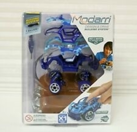 Picture of Modarri - Build It Yourself Toy Car - X1 Midnight Camo Car - Scale 1:32