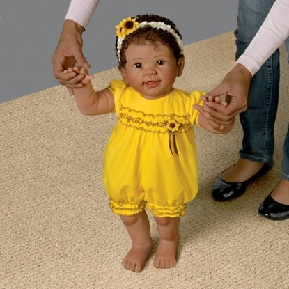 Picture of Kiara's  First Steps - Cloth Body